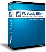 Biblesoft PC Study Bible 5.0: Advanced Reference Library on CD-ROM