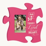 Trust In the Lord, Puzzle Photo Frame