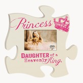 Princess, Daughter Of A Heavenly King, Puzzle Photo Frame
