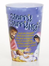 Starry, Starry Night Plastic Tumbler