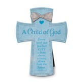 A Child of God Cross, Blue