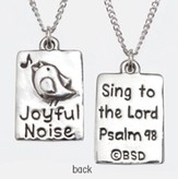 Joyful Noise Necklace, Psalm 98