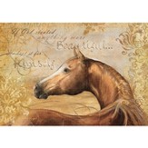 If God Created Anything More Beautiful, Chestnut Beauty, Horse Boxed Note Cards