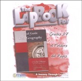 Trail Guide to U.S. Geography Lapbook CD-Rom