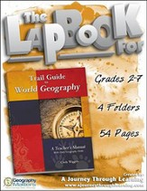 Trail Guide to World Geography Lapbook CD-Rom