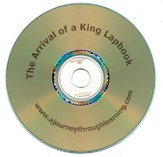 The Arrival of a King Lapbook CD-Rom