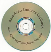 American Indians Lapbook CD-Rom