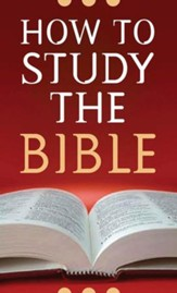 How to Study the Bible - eBook