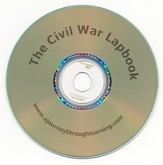 The Civil War Lapbook CD-Rom