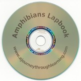 Amphibians Lapbook CD-Rom