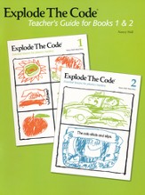 Explode the Code, Teacher's Guide for Books 1 and 2