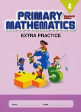 Primary Mathematics Extra Practice Book 4, Standards Edition