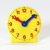 Plastic Geared Clock