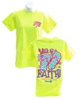 Walk By Faith 2, Blessed Girl Tee Shirt, Small