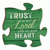 Puzzle Piece, Trust In the Lord Magnet