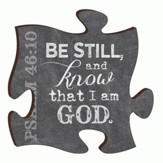 Puzzle Piece, Be Still and Know Magnet