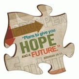 Puzzle Piece, Plans To Give You Hope and A Future Magnet