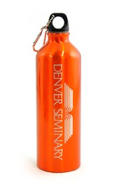Denver Seminary Water Bottle, Orange