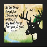 As the Deer Longs For Streams of Water, So My Soul Longs For You, O God, Artwork