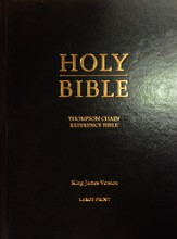 KJV Thompson Chain-Reference Bible, Large Print, Hardcover