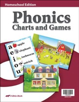 K4-K5 Homeschool Phonics Charts and Games