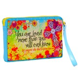 You Are Loved, Flowers Wristlet