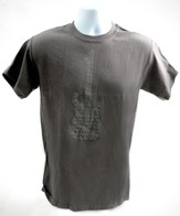 Psalms Guitar Shirt, Gray, Large