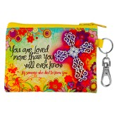 Flowers, You Are Loved Coin Purse
