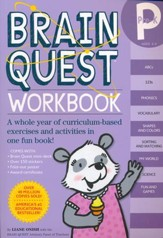 Brain Quest Workbook, Pre-K