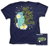 Lightning Bug Shirt, Navy, Medium