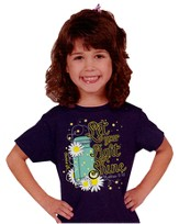 Lightning Bug Shirt, Navy, Youth Large