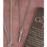No Greater Love Wrapped Nail Pendant