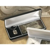 Graduation Dog Tag Pendant, Jeremiah 29:11, Boxed