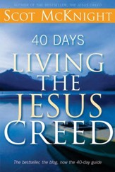 40 Days Living the Jesus Creed - eBook