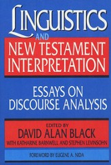 Linguistics and New Testament Interpretation
