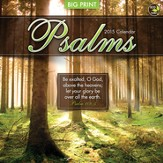 Psalms, Big Print, 2015 Wall Calendar