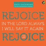 Faithfully Worded, 2015 Wall Calendar