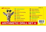 Arithmetic Drill Set A Flashcards
