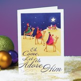 O Come Let Us Adore Him, Christmas Cards, Pack of 20