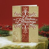 Christmas Blessings, Christmas Cards, Pack of 20