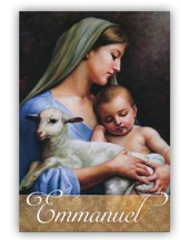 Emmanuel Christmas Cards, Pack of 20