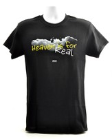Heaven Is For Real, Shirt, Black, Large