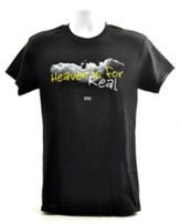 Heaven Is For Real, Shirt, Black, Small