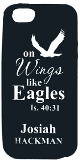 Personalized iPhone 5 Case for Personalization, Eagle, Black