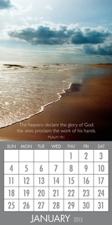 Psalms, 2015 Magnetic Calendar