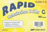 Rapid Calculation Drills C (7-8)