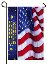 Proudly Served Flag, Small