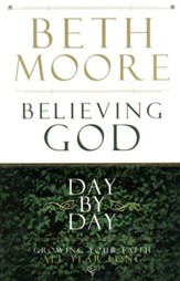Believing God; Day by Day, Large Print - Slightly Imperfect
