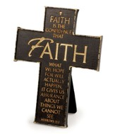 Faith Is the Confidence Cross