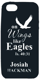 Personalized iPhone 4 Case, Eagle, Black